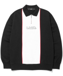 엘엠씨(LMC) LMC COLLAR QUARTER ZIP SWEATSHIRT black