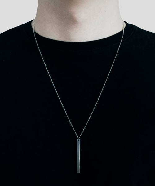 셉텐벌5(SEPTEMBER5) Bar stick necklace
