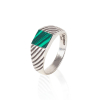 403 CLASSIC MALACHITE RING