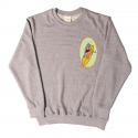 리온(RION) TAKE A CHILL PILL GREY SWEATSHIRT