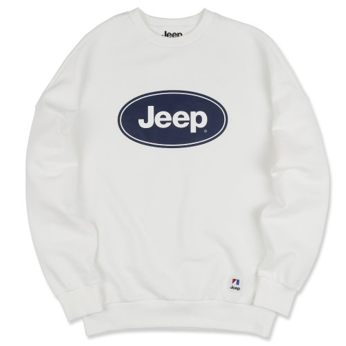 지프(JEEP) Circle Logo Sweat (GK5TSU884WH)