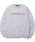 엘엠씨(LMC) LMC CAPITAL LOGO SWEATSHIRT lt.heather gray