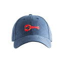 하딩레인(HARDING-LANE) Adult`s Hats Lobster on Navy Blue