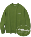LOCATION LOGO CREWNECK IS [OLIVE GREEN]
