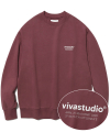 LOCATION LOGO CREWNECK IS [INDIGO PINK]
