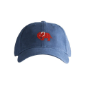 하딩레인(HARDING-LANE) Adult`s Hats Red Elephant on Navy Blue