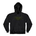 안티히어로(ANTI HERO) BASIC EAGLE PULLOVER HOODED SWEATSHIRT - BLACK/ARMY
