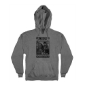 안티히어로(ANTI HERO) HELP DEPT PULLOVER HOODED SWEATSHIRT - GUNMETAL HEATHER