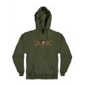 안티히어로(ANTI HERO) EAGLE PULLOVER HOODED SWEATSHIRT - ARMY