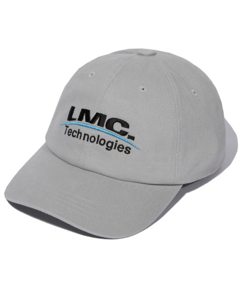 엘엠씨(LMC) LMC TECH LOGO 6 PANEL CAP gray
