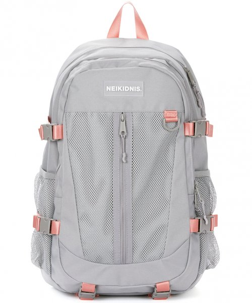 네이키드니스(NEIKIDNIS) COMPLETE BACKPACK / GRAY PINK