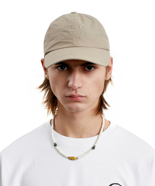 라이풀(LIFUL) COMFORT 6 PANEL CAP beige
