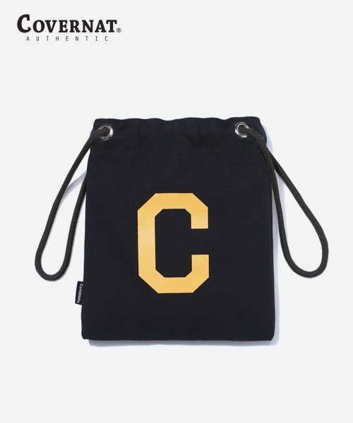 커버낫(COVERNAT) C LOGO ECO POUCH BAG BLACK
