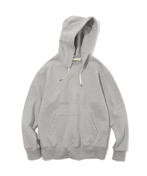 유니폼브릿지(UNIFORM BRIDGE) 19ss double face hooded sweatshirts grey
