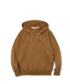 19ss double face hooded sweatshirts brown