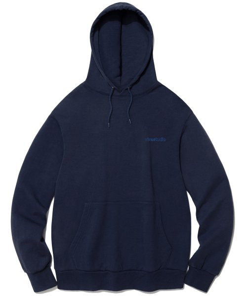 비바스튜디오(VIVASTUDIO) OUTLINE LOGO HOODIE IS [NAVY]