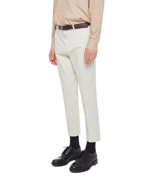 에이본(THE-ABON) Retrack smith cotton pants (Ivory)
