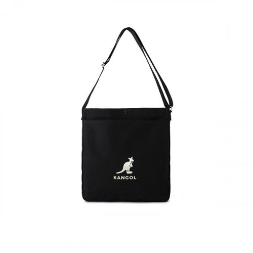 캉골(KANGOL) Eco Cross Bag Connie Ⅱ 0029 BLACK