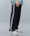 SIDE LINE TRACK PANTS GRAY