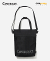CORDURA AUTHENTIC LOGO 2WAY TOTE BAG BLACK