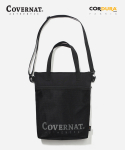 커버낫(COVERNAT) CORDURA AUTHENTIC LOGO 2WAY TOTE BAG BLACK
