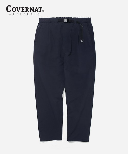 커버낫(COVERNAT) N/C STRETCH SLIM EASY PANTS NAVY