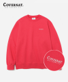 SMALL AUTHENTIC LOGO CREWNECK PINK RED