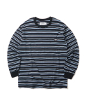 크리틱(CRITIC) STRIPE LONG SLEEVE T-SHIRT(NAVY)_CTOGARL12UN0