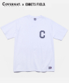 COVERNAT x EFF S/S C LOGO PATCH TEE WHITE