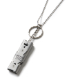 CRITIC WHISTLE NECKLACE(SILVER)_CTONPAC01UC0