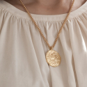 아르코(ARCO) Rose Coin Necklace