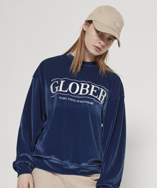 매치글로브(MATCHGLOBE) MG9S VELVET SWEAT MTM (DARK BLUE)