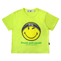 프레시 안티 유스() FRAY LOGO SMILE T-SHIRTS (FOR WOMEN) - NEON