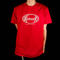 키치워크(KICHWORK) 19 SS Signature Logo T_Red
