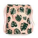 밴도(BAN.DO) GOT YOUR BACK DRAWSTRING BACKPACK-monstera