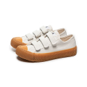 엑셀시오르(EXCELSIOR) 볼트 로우 벨크로 Bolt Low Velcro_Steam White/Gum(ES_M6017VC_WG)