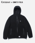 커버낫(COVERNAT) COVERNAT x EFF BOA WARM UP JACKET BLACK