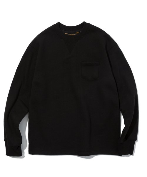 유니폼브릿지(UNIFORM BRIDGE) 19ss heavyweight sweatshirts black