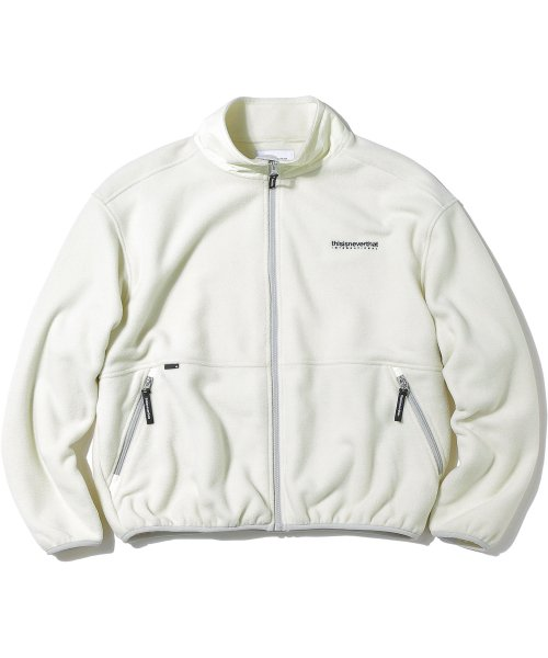 디스이즈네버댓(THISISNEVERTHAT) INTL. Fleece Jacket Ivory