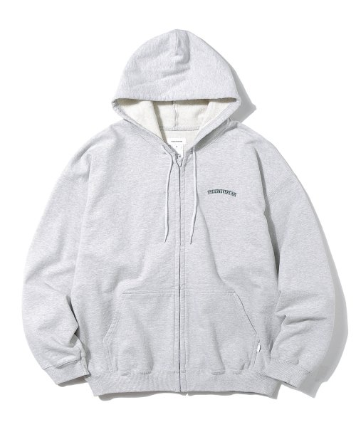 디스이즈네버댓(THISISNEVERTHAT) ARC-Logo ZIPUP Sweat Grey