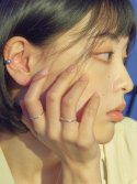 포스트루드(POSTLUDE) [SILVER] WIRE EARCUFF (2 COLORS)