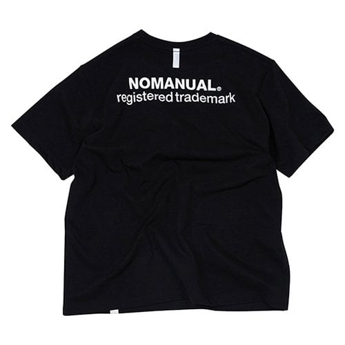 NM PATCH LOGO T-SHIRT - BLACK