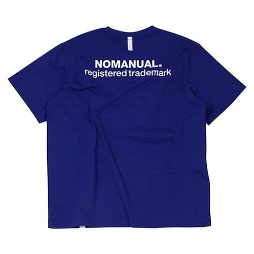 NM PATCH LOGO T-SHIRT - BLUE