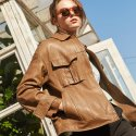 핀블랙() VEGETABLE WASHING JACKET LIGHT BROWN