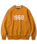 유니폼브릿지(UNIFORM BRIDGE) 1960 sweatshirts yellow orange
