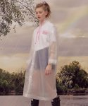 로라로라(ROLAROLA) (LV-19305) ROLA CLEAR RAINCOAT PINK