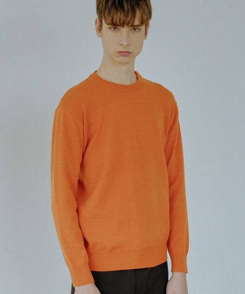 디폴트(DEFAULT) BASIC KNIT(CAMEL)