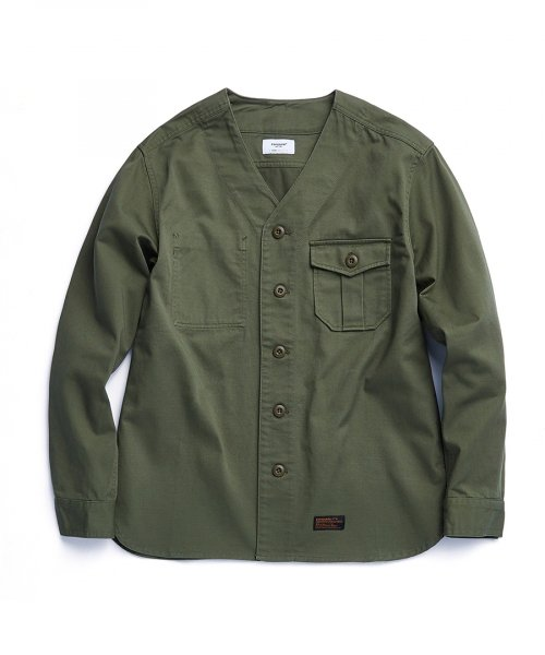 에스피오나지(ESPIONAGE) Kennedy Scout Shirts Olive