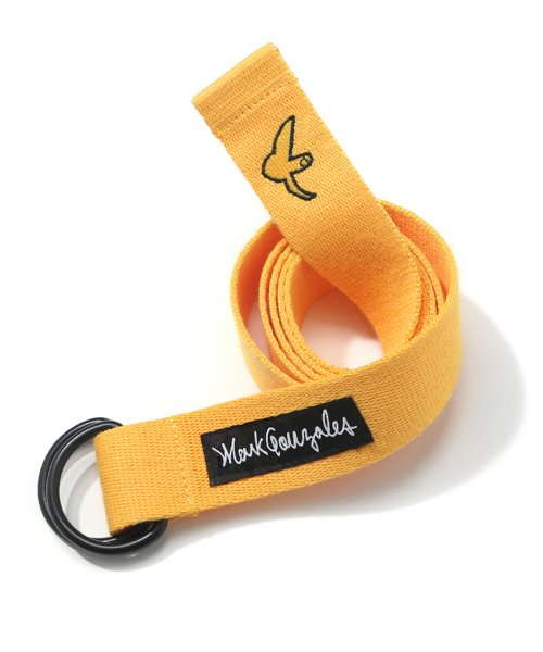 마크 곤잘레스(MARK GONZALES) M/G LOGO BELT YELLOW