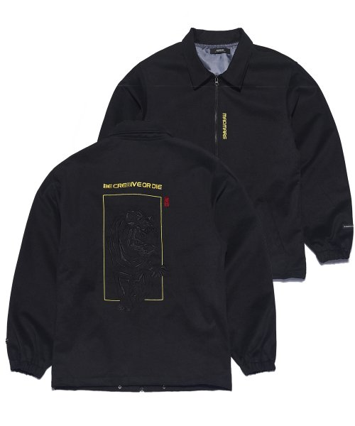 매드마르스(MADMARS) TIGER EMBROIDERED JACKET_BLACK